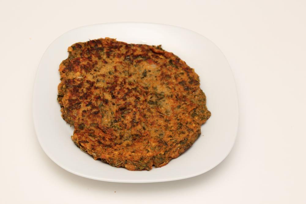Moringa leaf pancake
