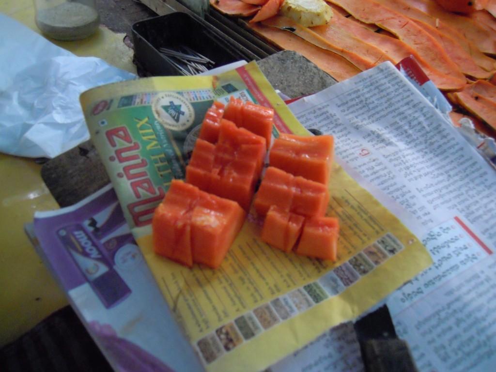 Sweet Papaya - Picture courtesy Hari