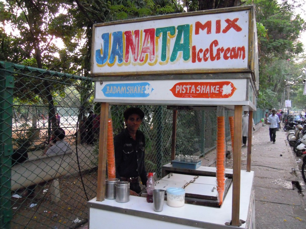 The Ice cream and milk shake man - Picture courtesy: Hari