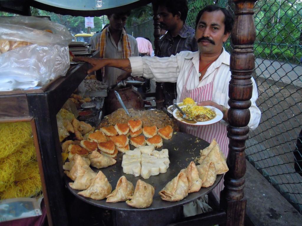 The Chaatwalla!  Picture courtesy: Hari