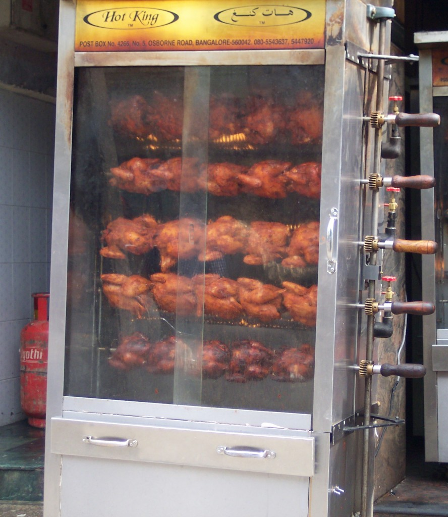 Rotisserie Tandoori Chicken in Bangalore, India